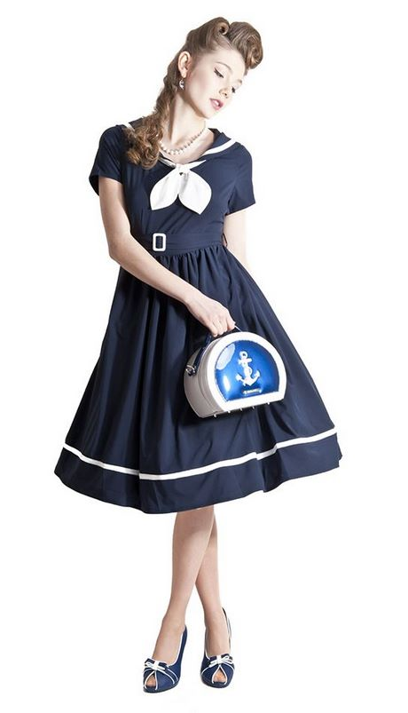Robe pin up navy