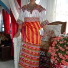 Robe kabyle traditionnelle