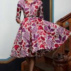 Robe en pagne africaine