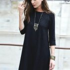 Modele robe hiver chic